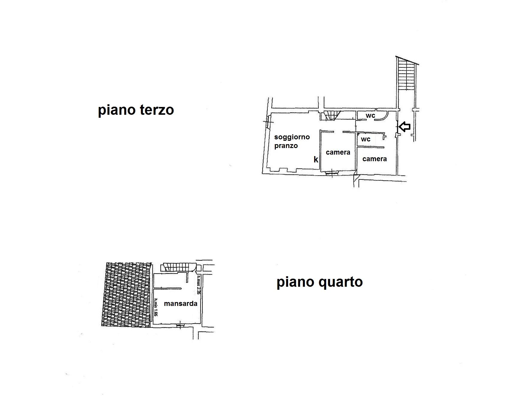 Planimetria 1/1 per rif. R/3332
