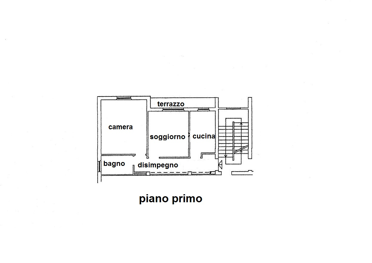 Planimetria 1/1 per rif. R/3334