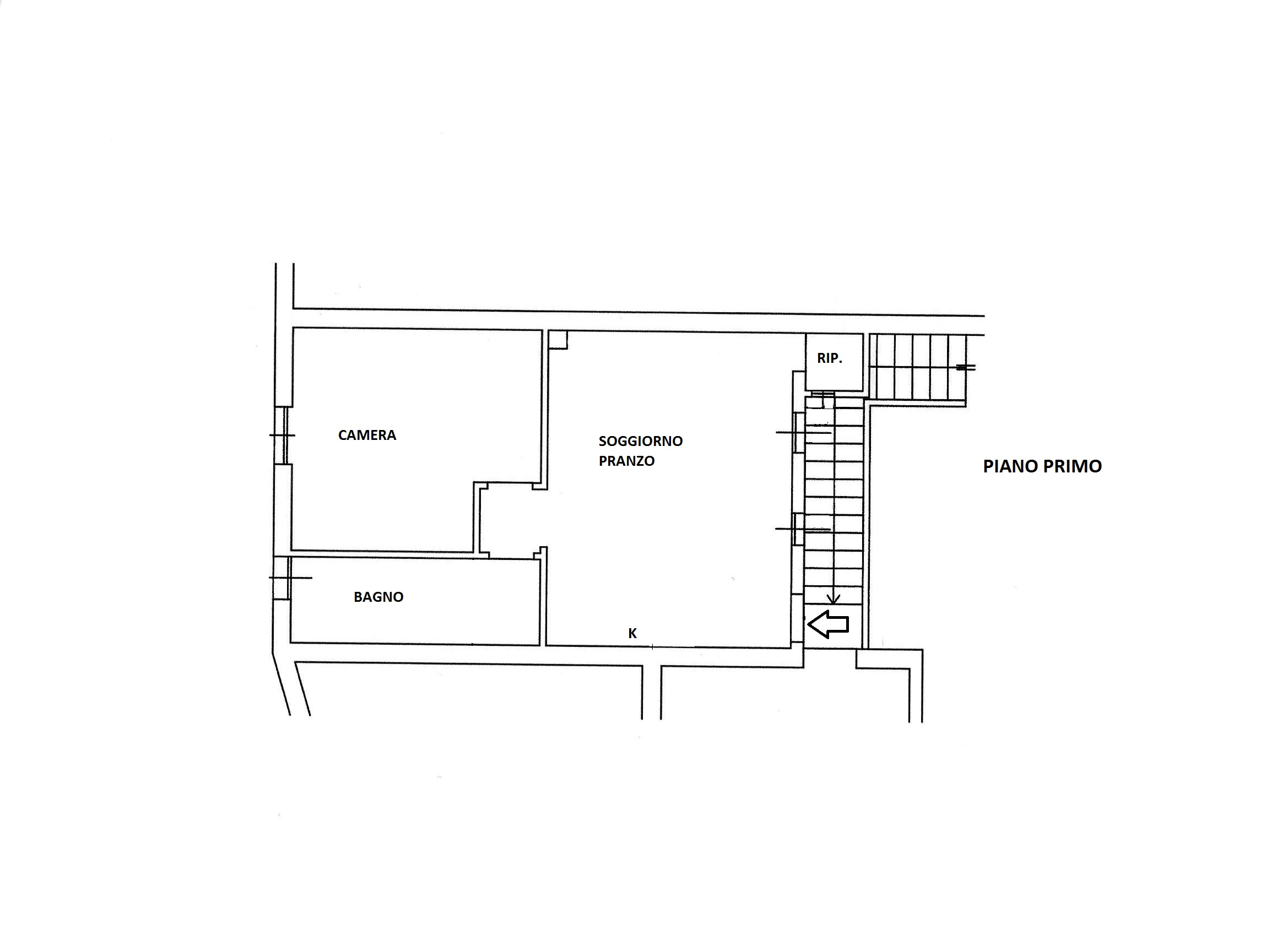 Planimetria 1/1 per rif. R/3336