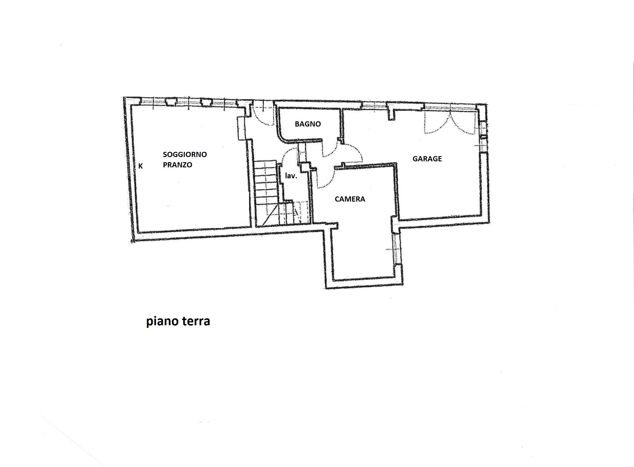 Planimetria 1/2 per rif. R/3337