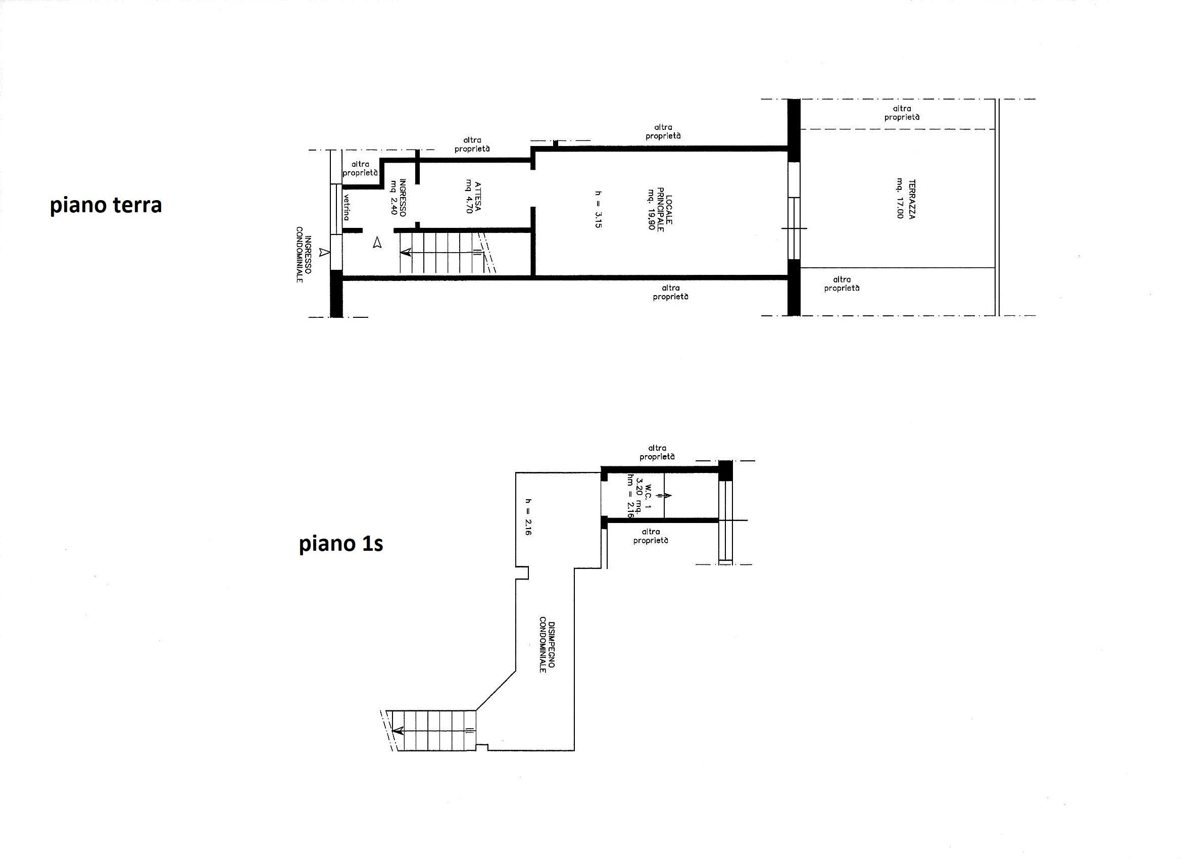 Planimetria 1/1 per rif. C/3344