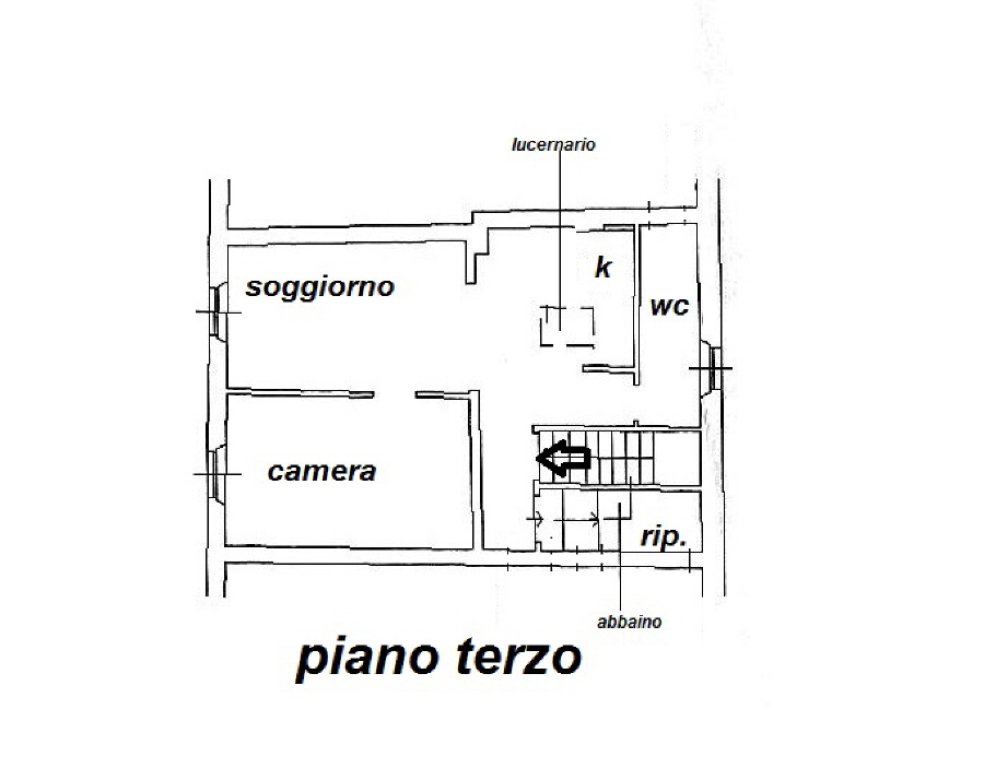 Planimetria 1/1 per rif. R/3345