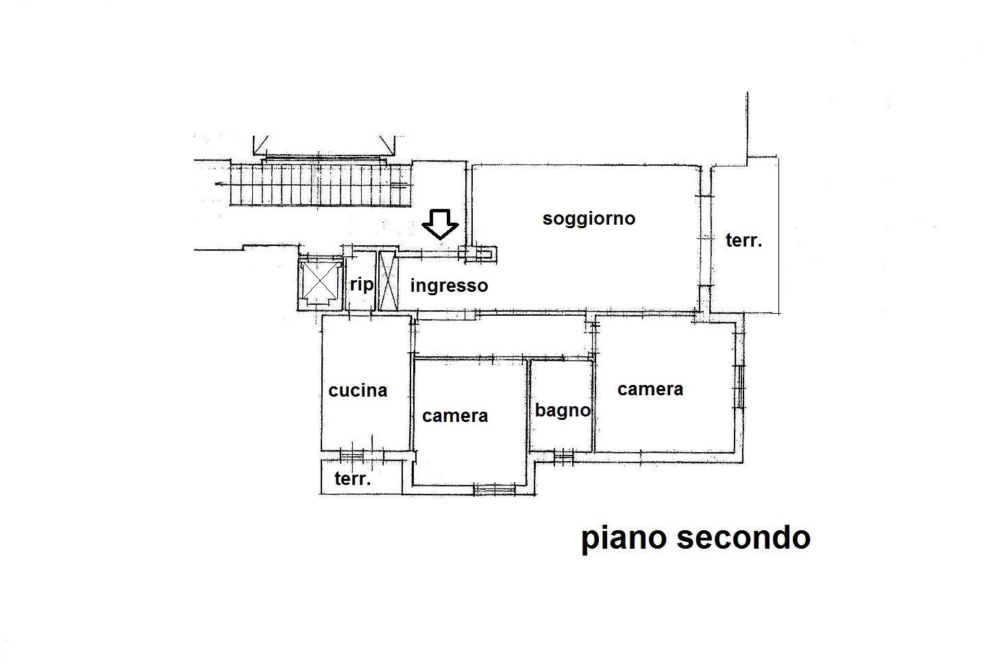 Planimetria 1/1 per rif. R/3348