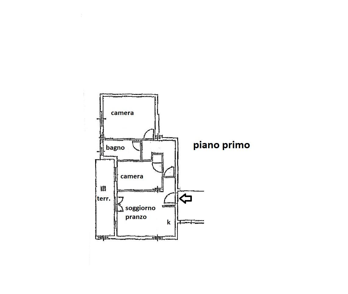 Planimetria 1/1 per rif. R/3354