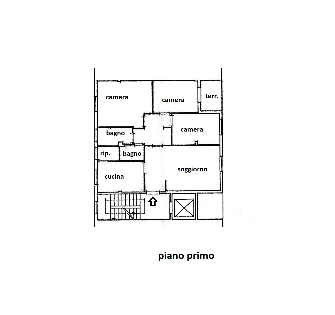 Planimetria 1/1 per rif. R/3356