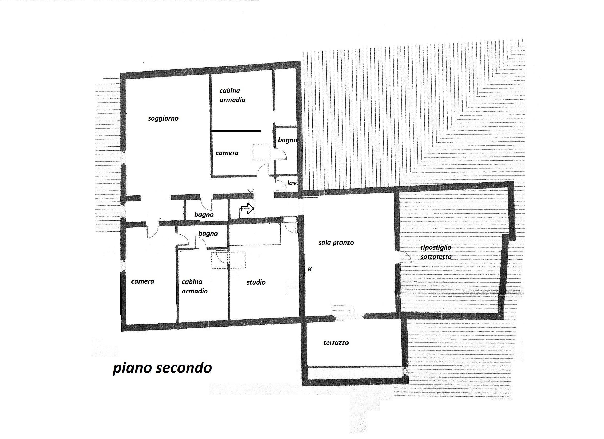 Planimetria 1/1 per rif. R/3359