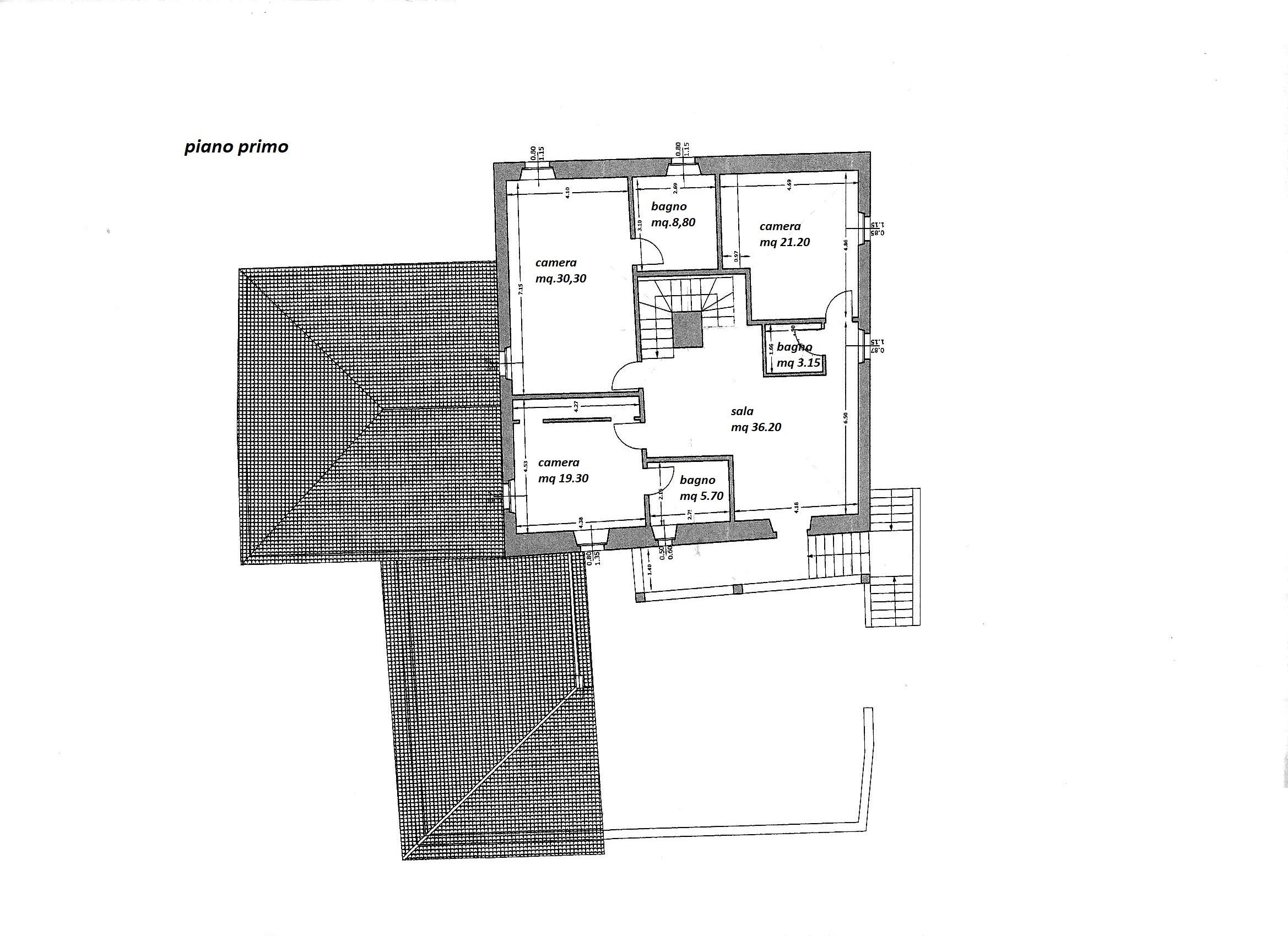Planimetria 2/3 per rif. R/3361