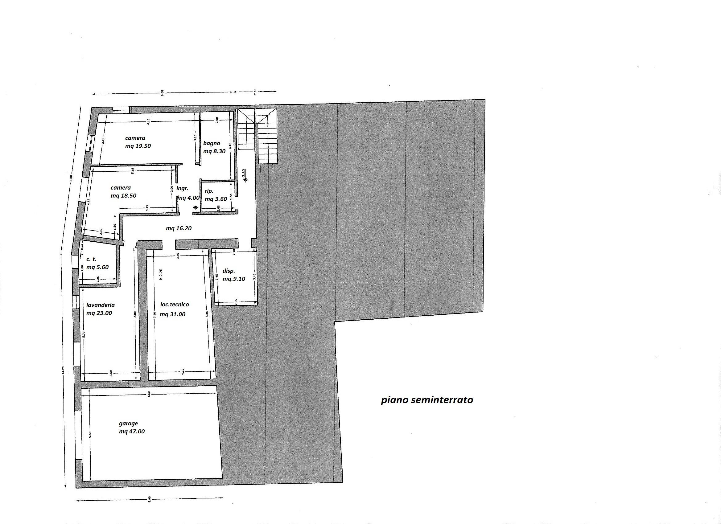 Planimetria 3/3 per rif. R/3361
