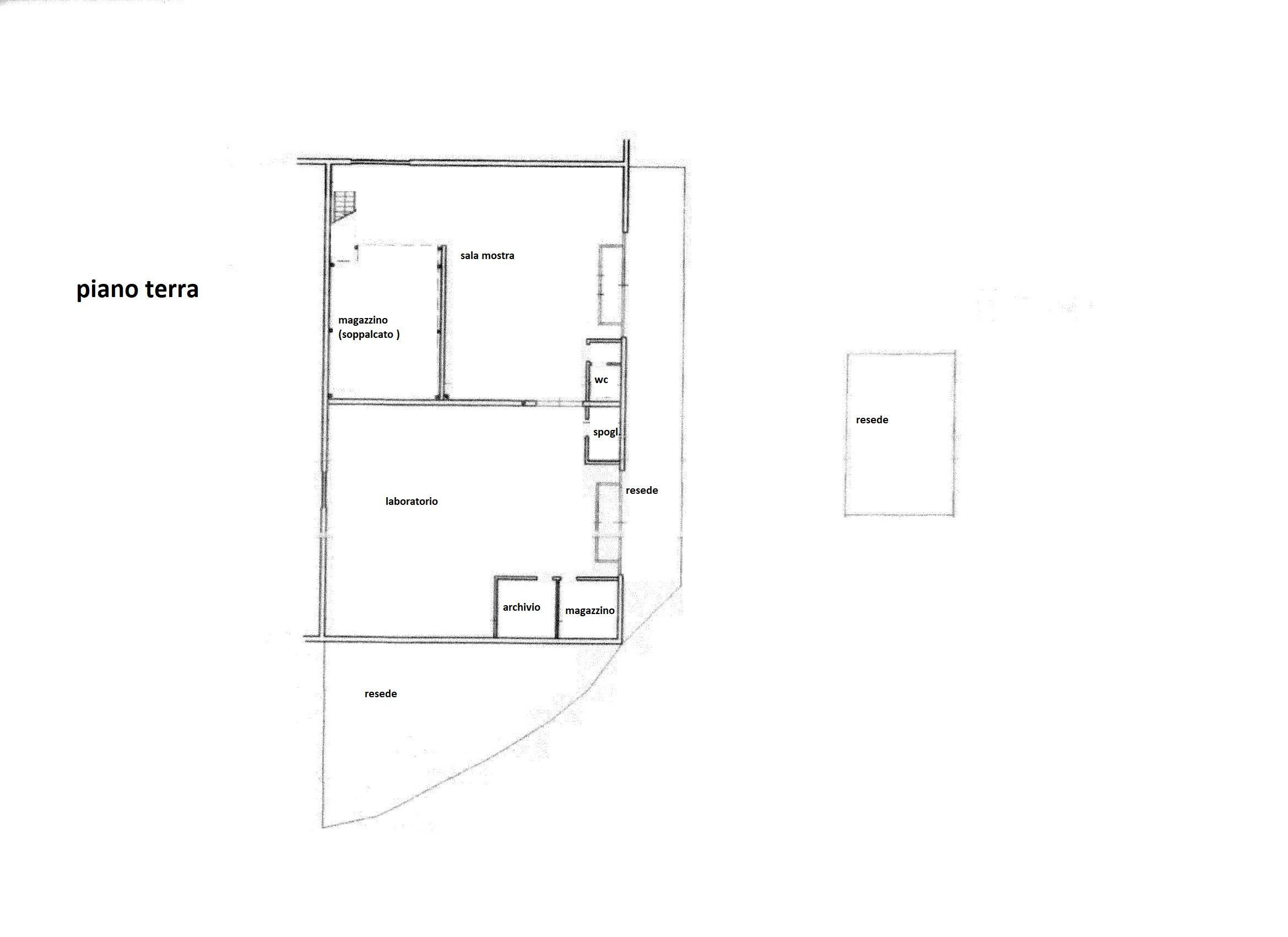 Planimetria 1/1 per rif. C/3373