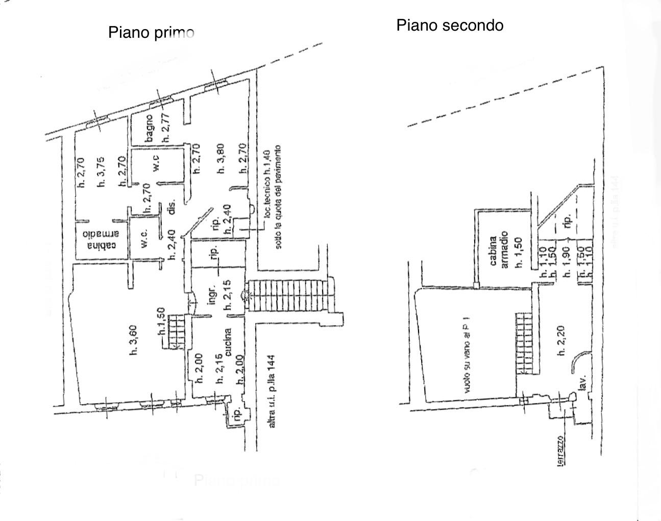 Planimetria 1/1 per rif. R/3375