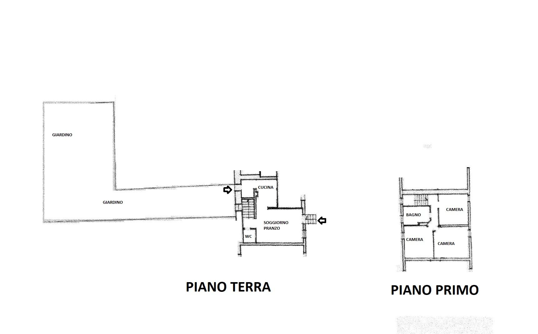 Planimetria 1/1 per rif. R/3381