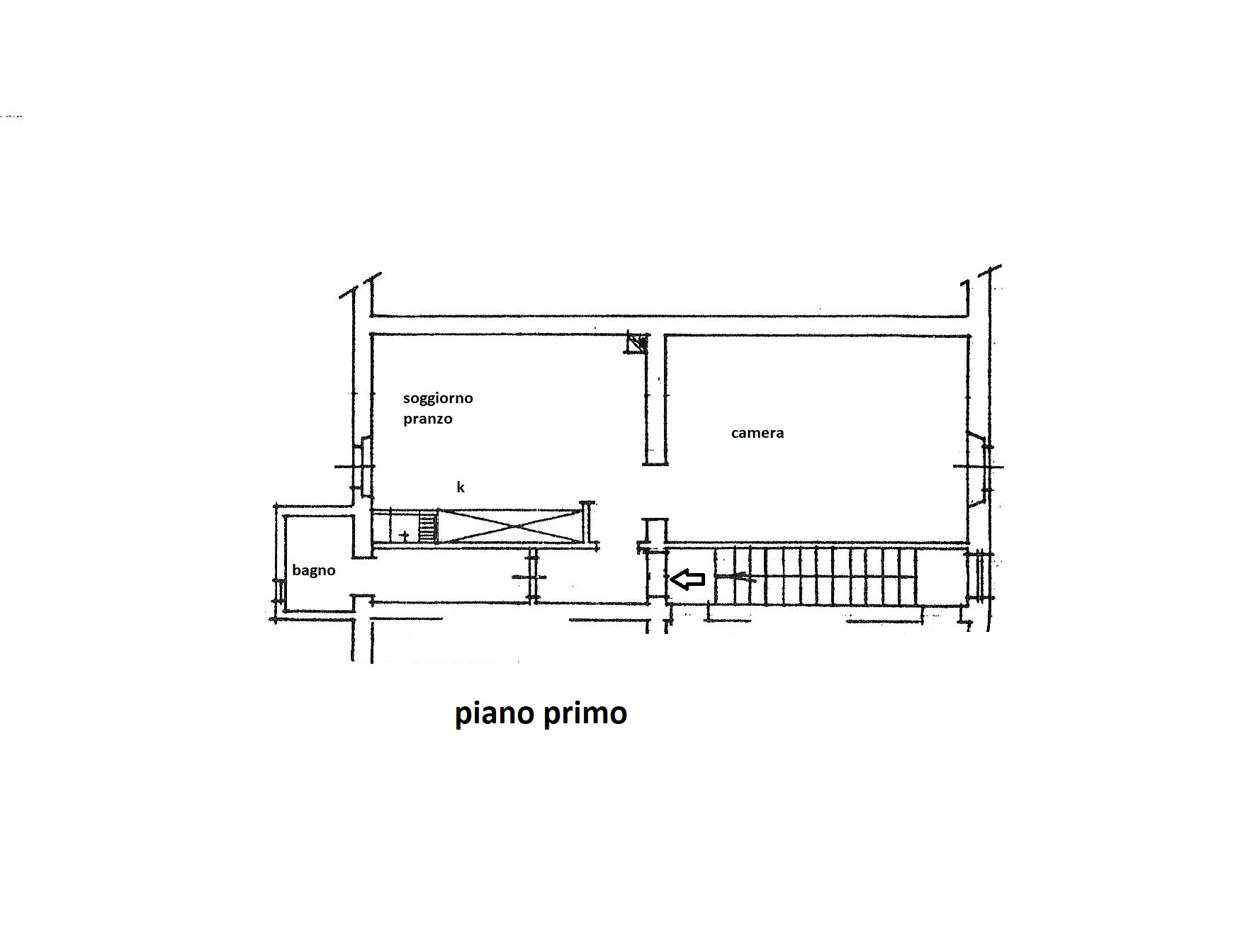 Planimetria 1/1 per rif. R/3388