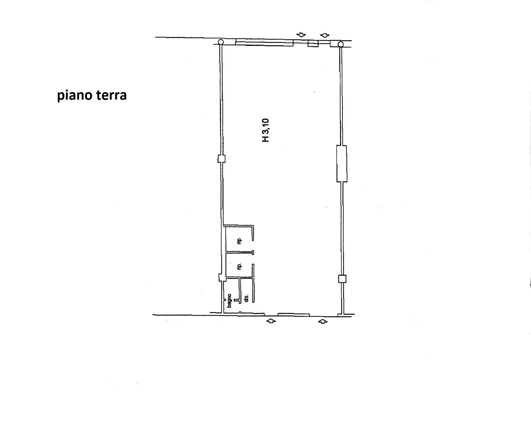 Planimetria 1/1 per rif. C/3393