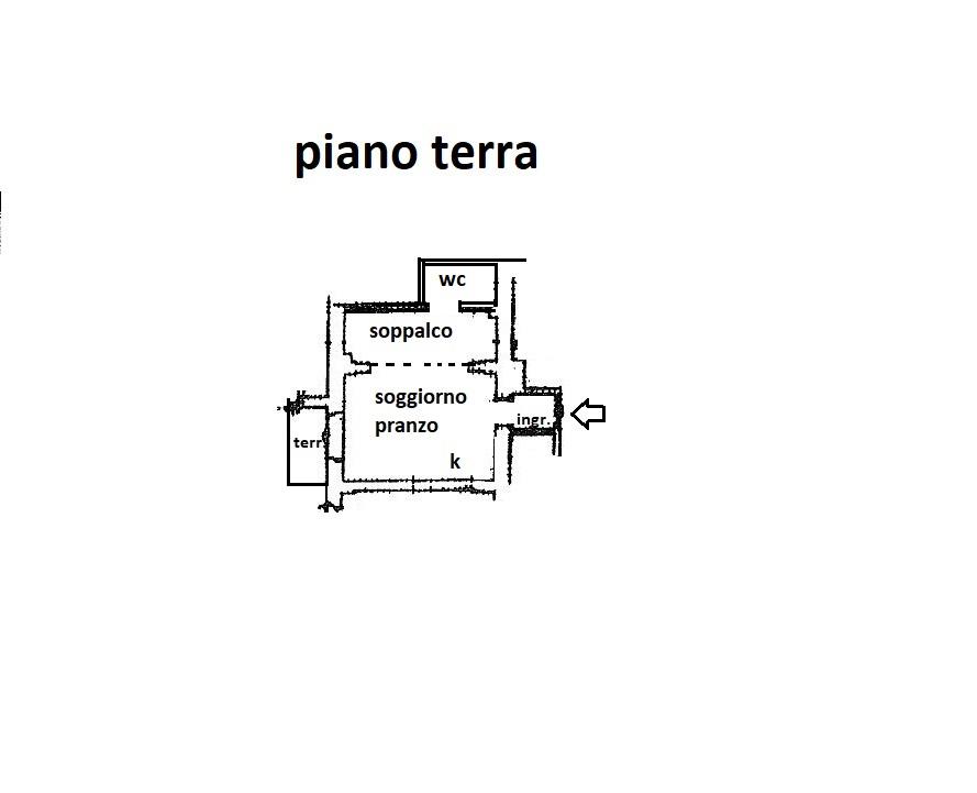 Planimetria 1/1 per rif. R/3394