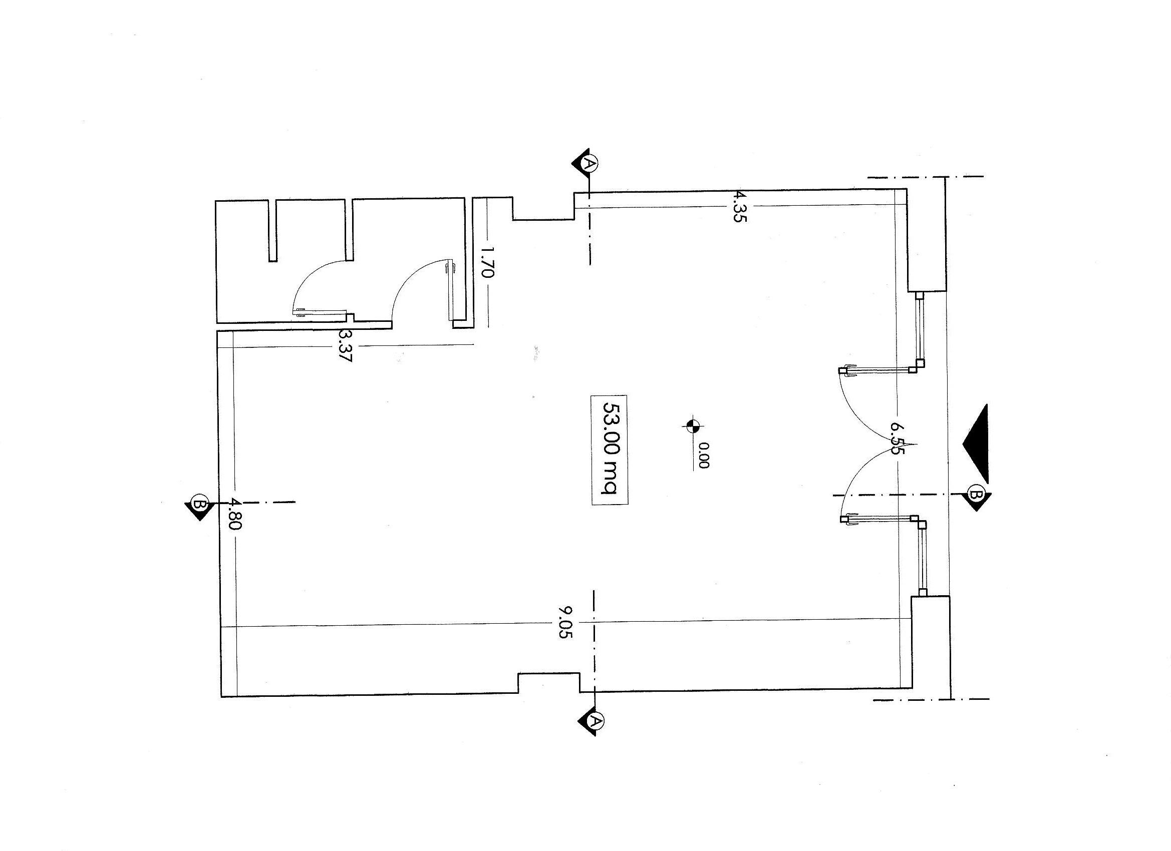 Planimetria 1/2 per rif. C/3395