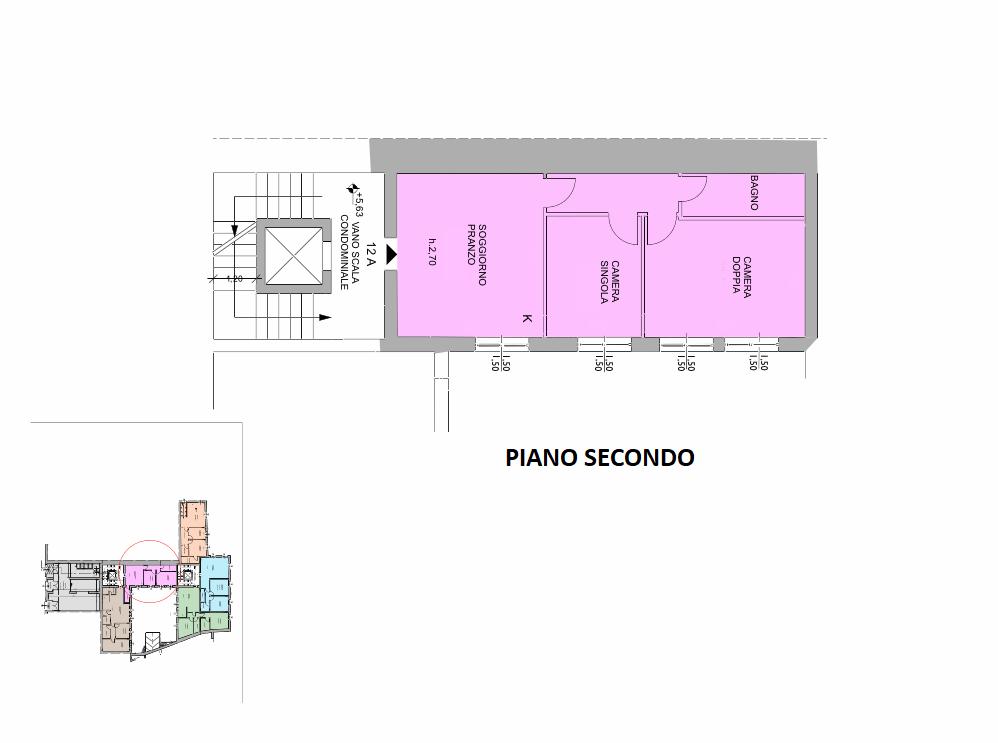Planimetria 1/1 per rif. R/3403