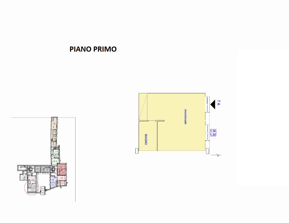 Planimetria 1/1 per rif. R/3404