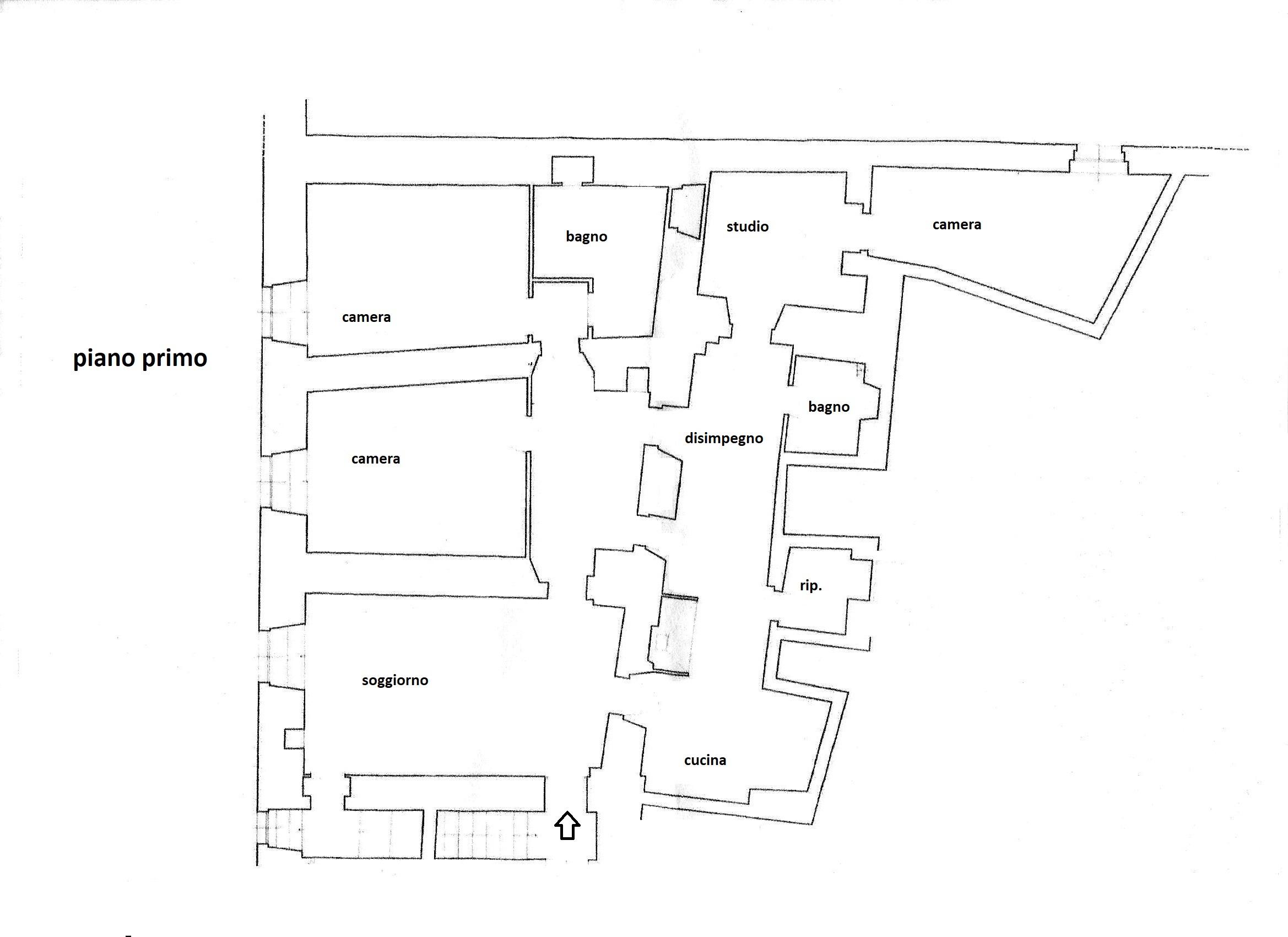 Planimetria 1/1 per rif. R/3409