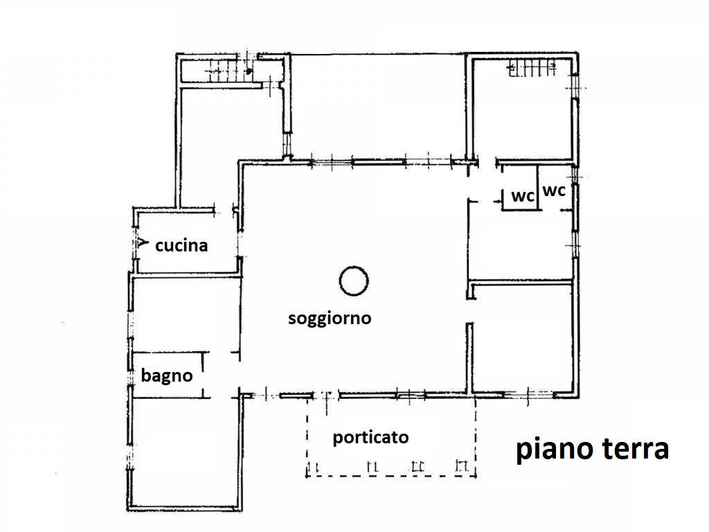 Planimetria 1/3 per rif. R/3413
