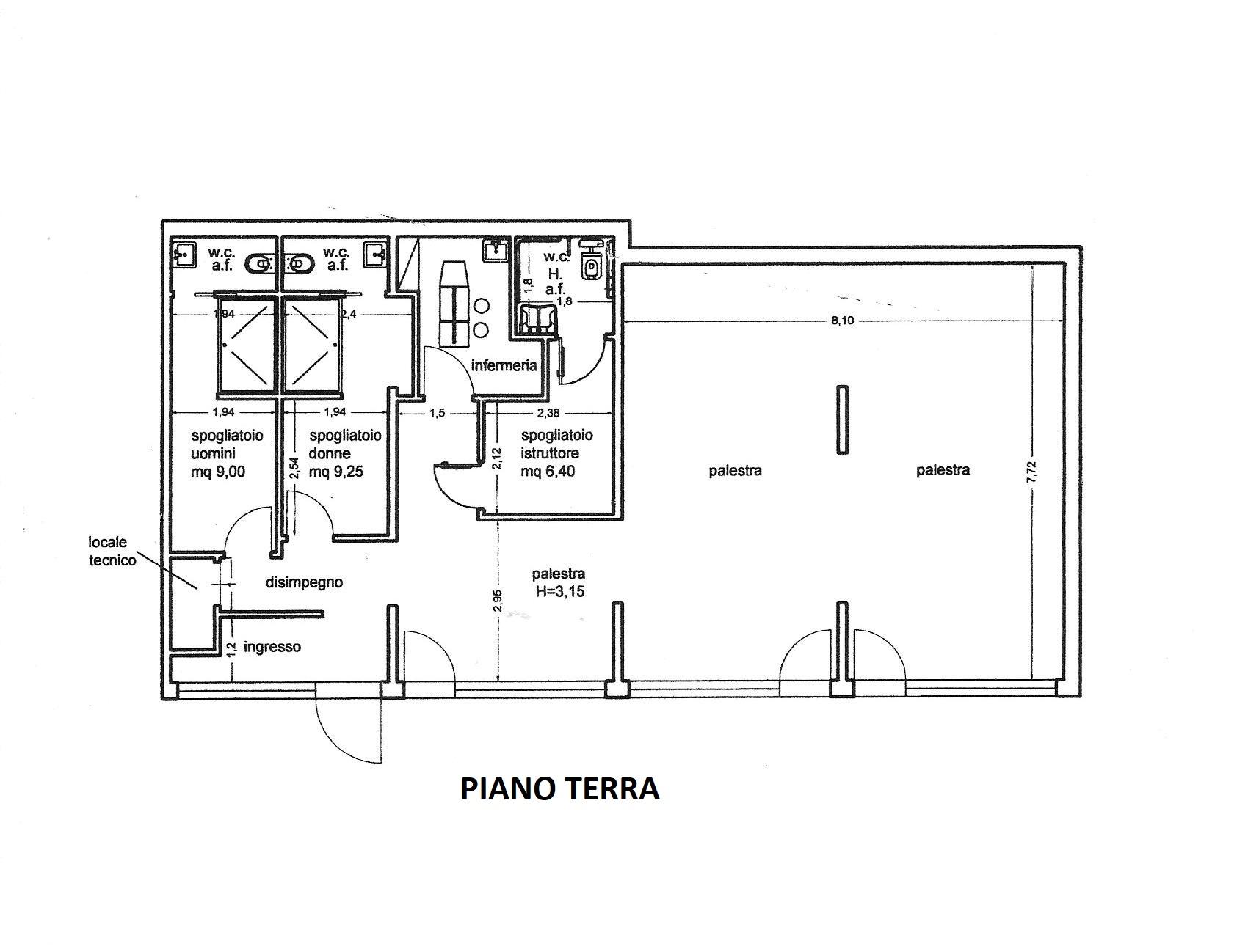 Planimetria 1/1 per rif. R/3415