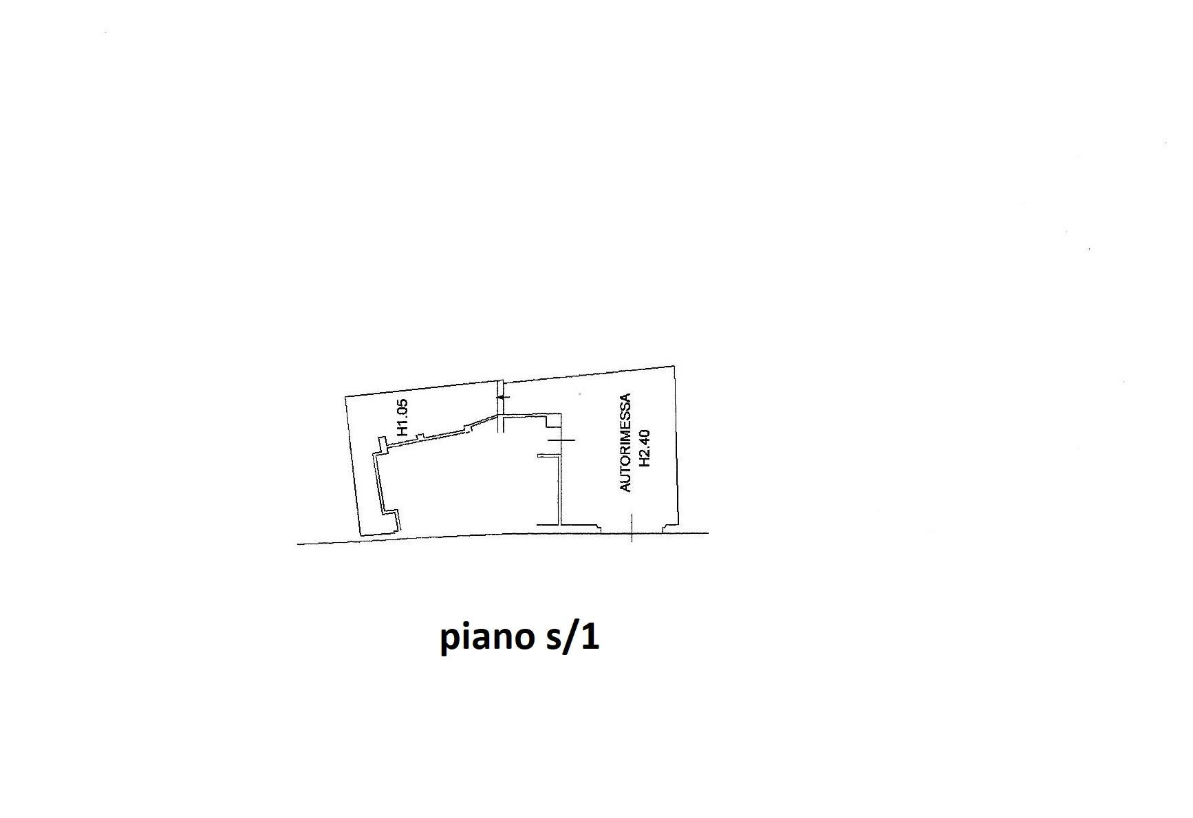 Planimetria 2/2 per rif. R/3418