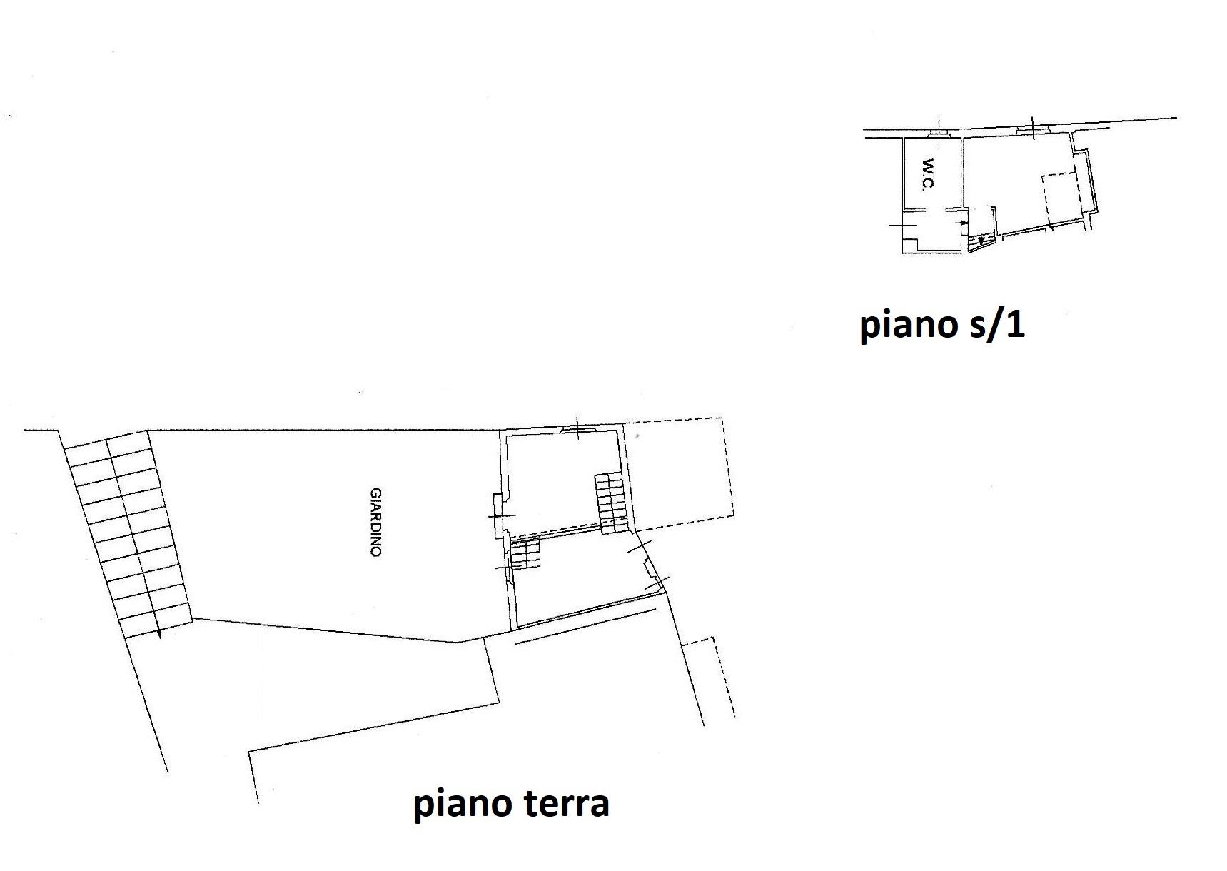 Planimetria 1/2 per rif. R/3418