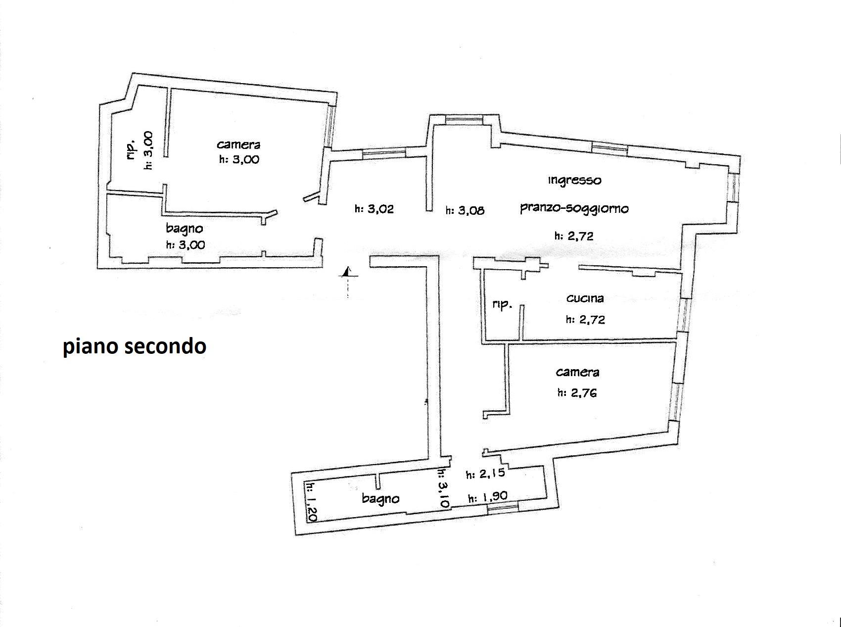 Planimetria 1/1 per rif. R/3423