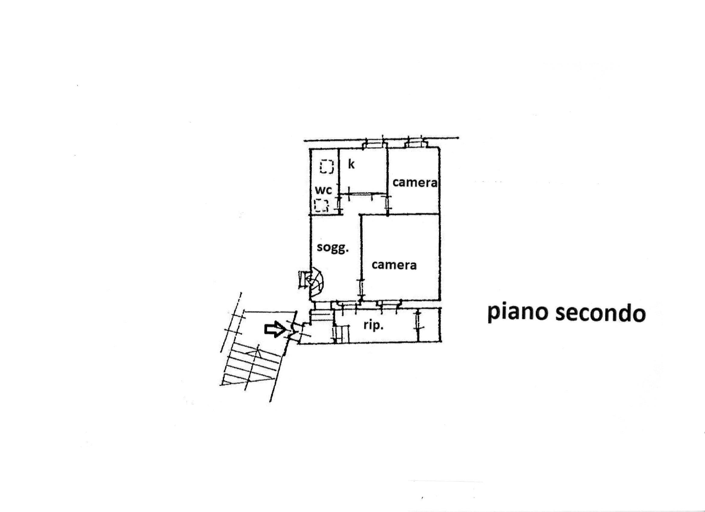 Planimetria 1/1 per rif. R/3426