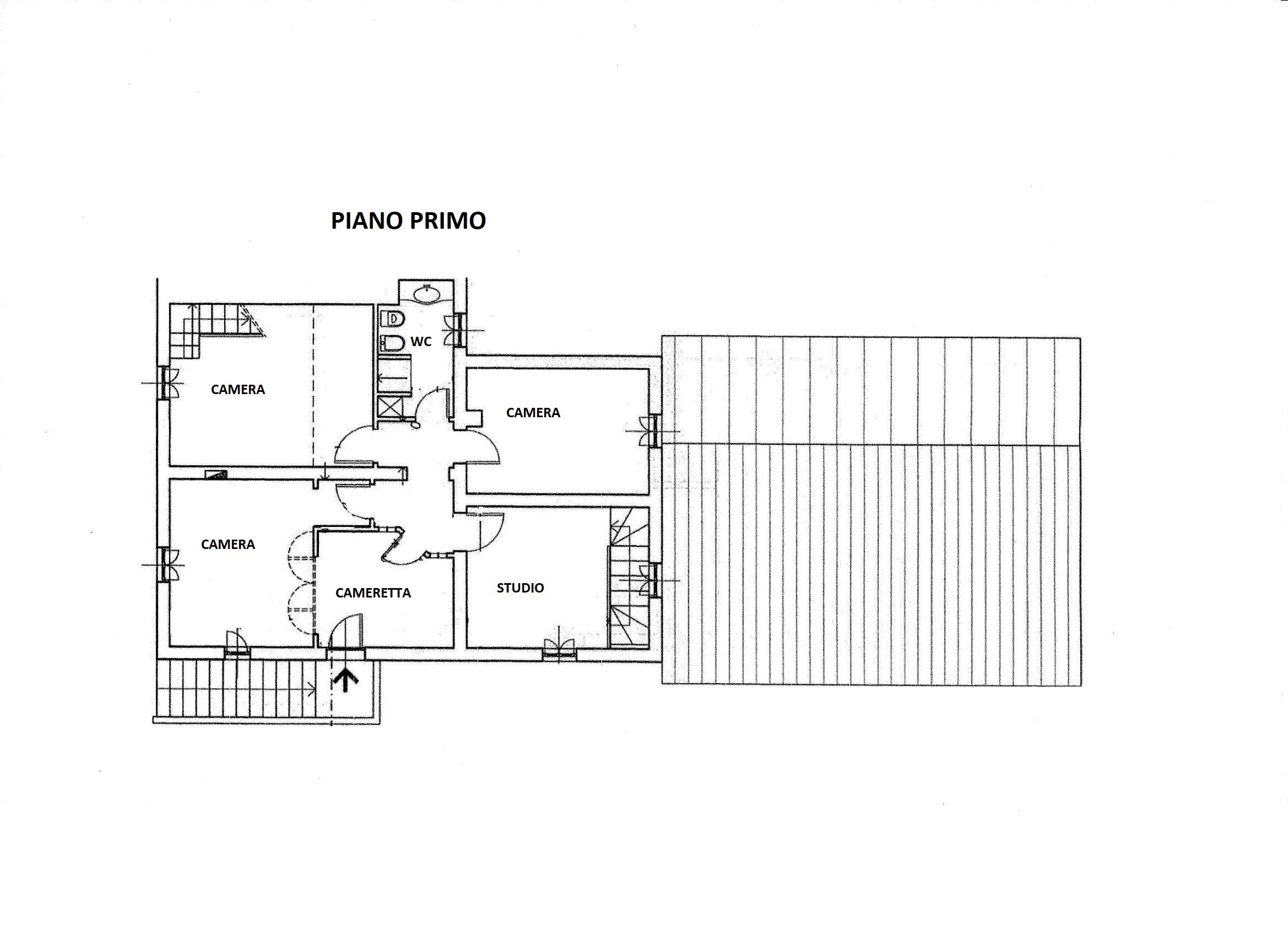 Planimetria 2/2 per rif. R/3451