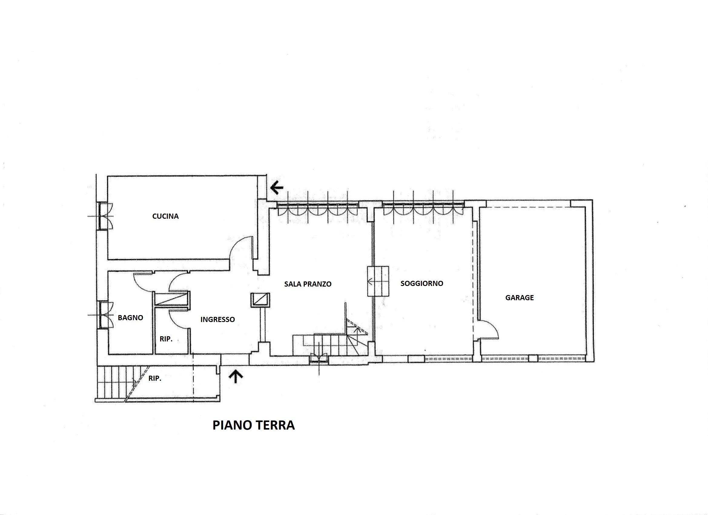 Planimetria 1/2 per rif. R/3451