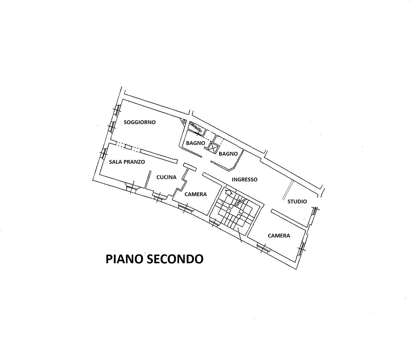 Planimetria 1/1 per rif. R/3454