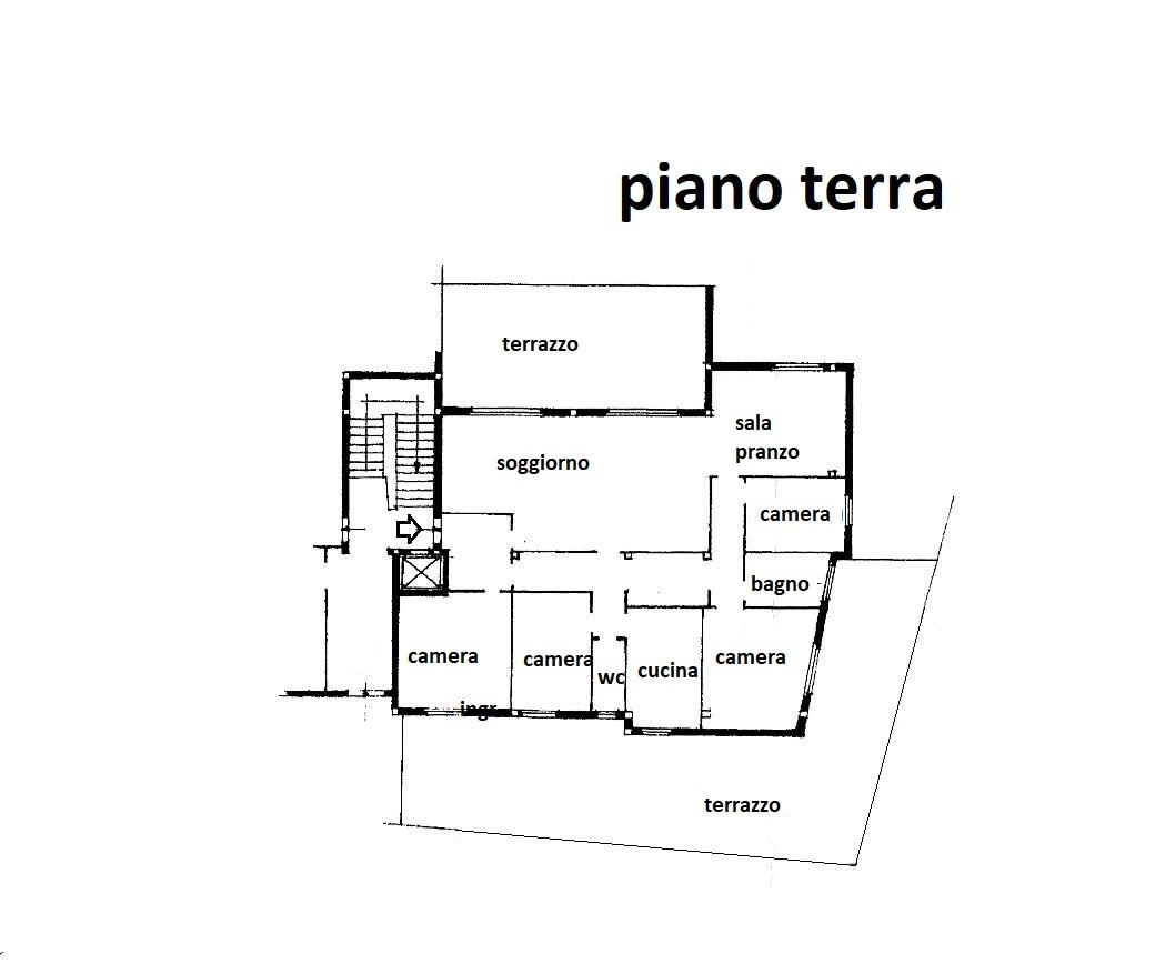 Planimetria 1/1 per rif. R/3458