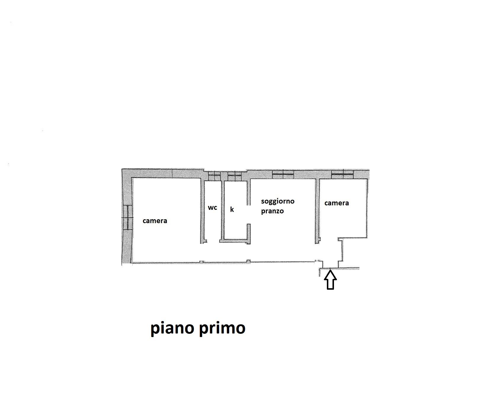 Planimetria 1/1 per rif. R/3462