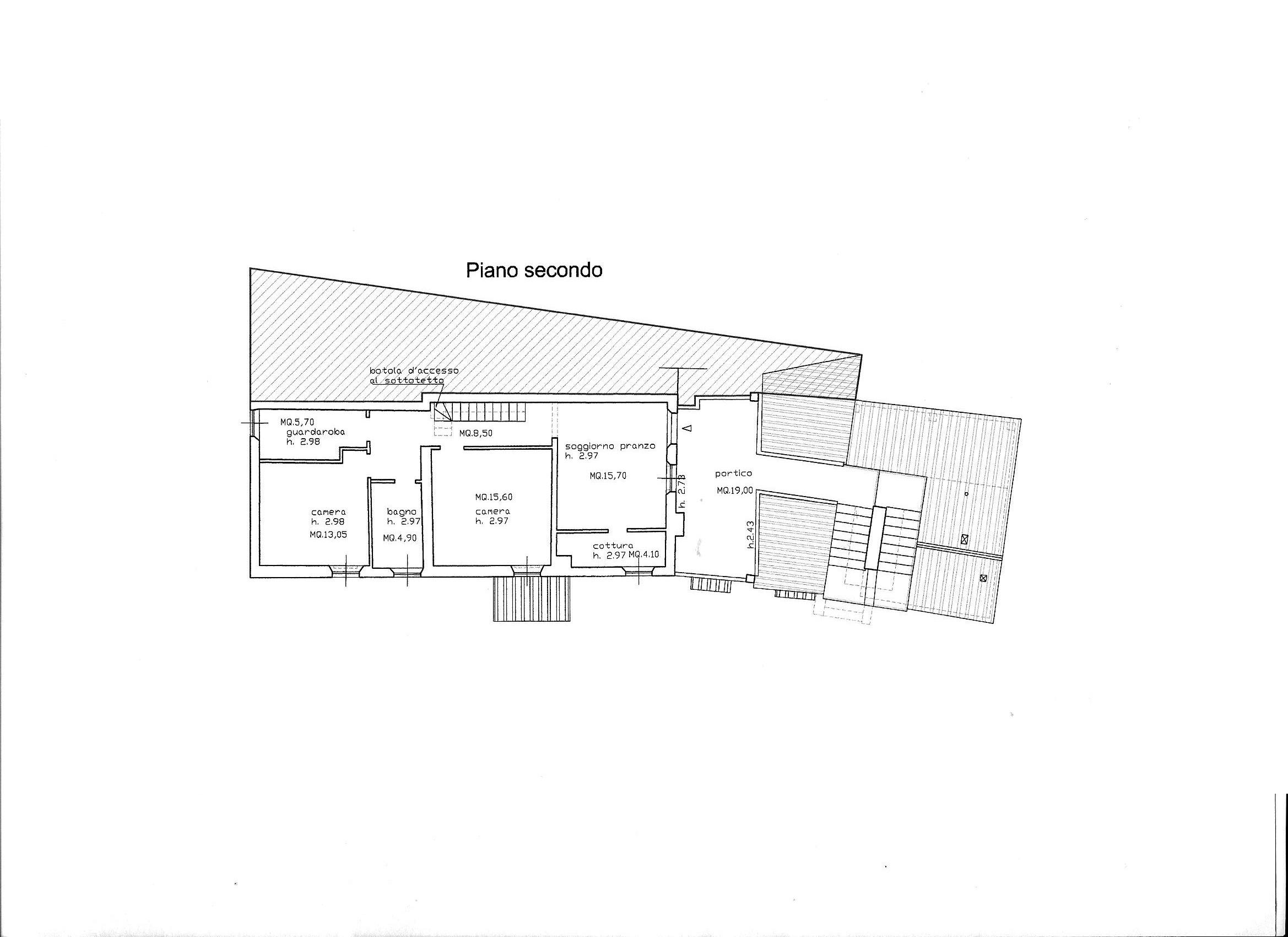 Planimetria 2/3 per rif. R/3463