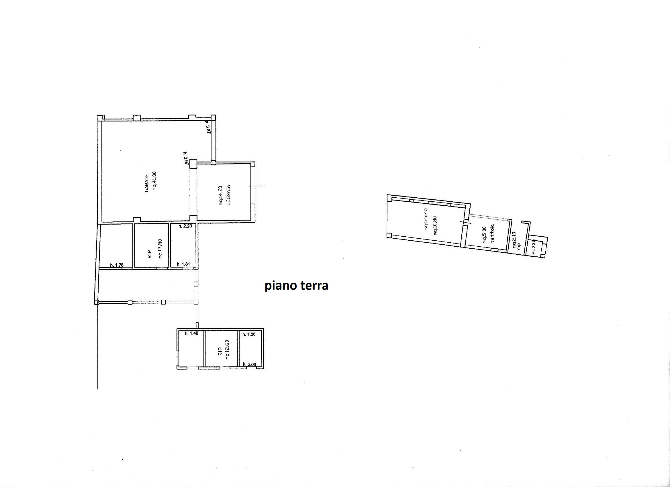 Planimetria 3/3 per rif. R/3463