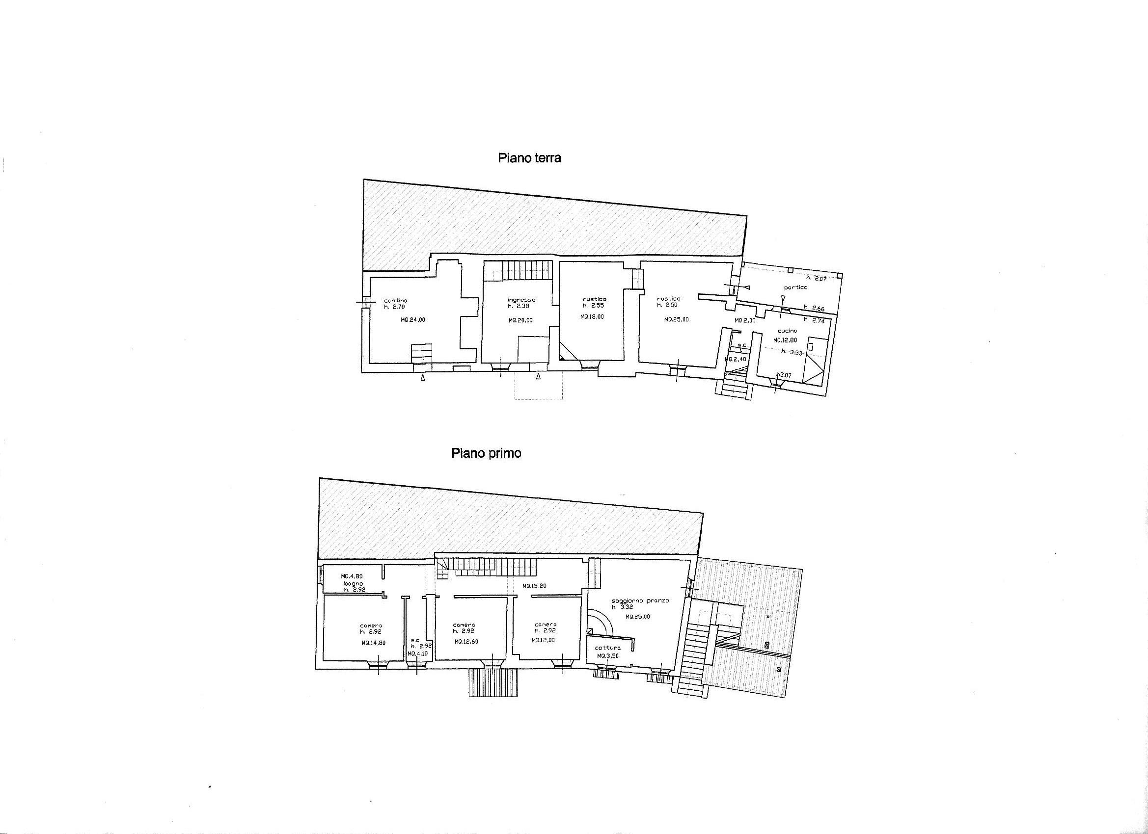 Planimetria 1/3 per rif. R/3463