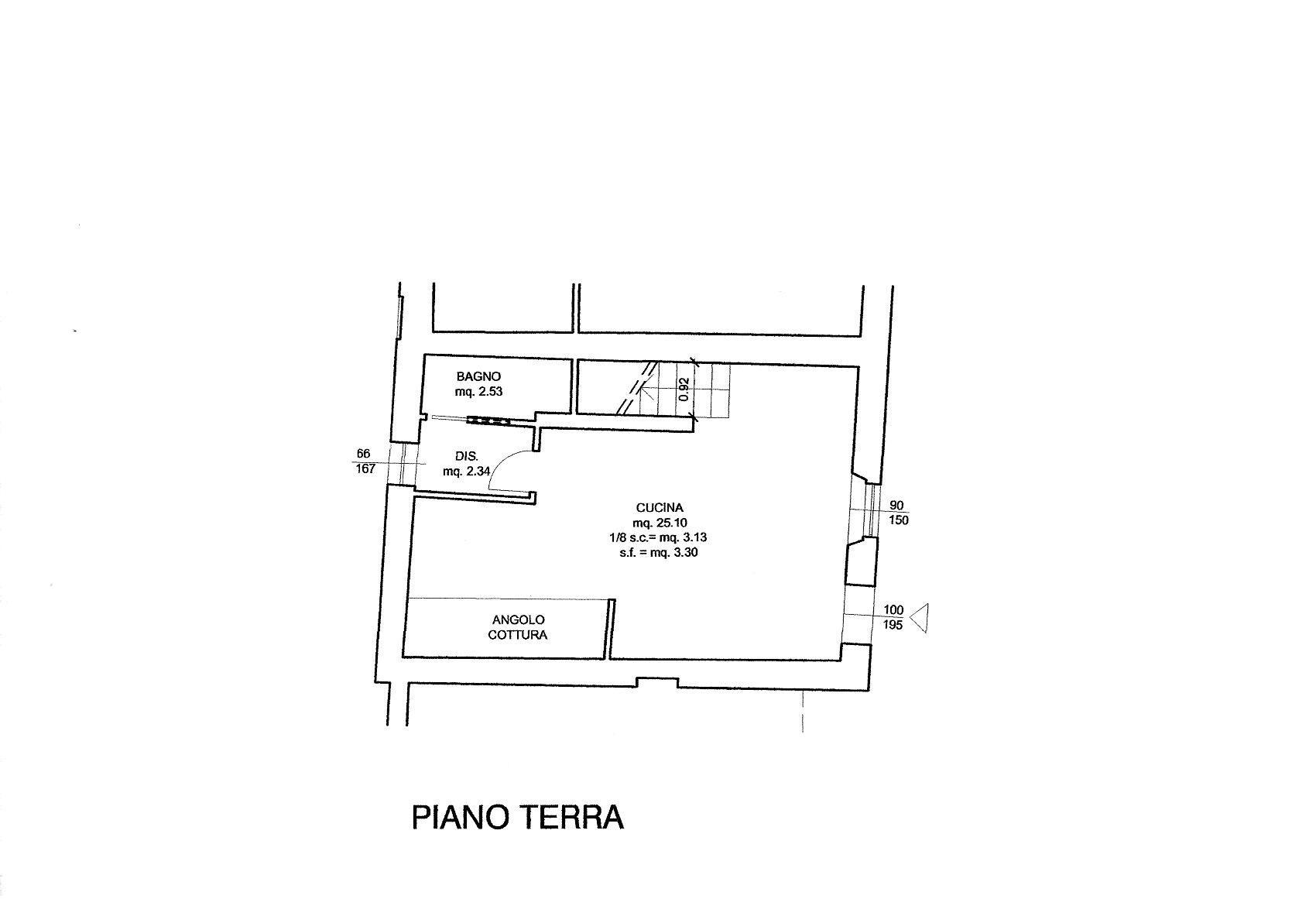 Planimetria 1/2 per rif. R/3465
