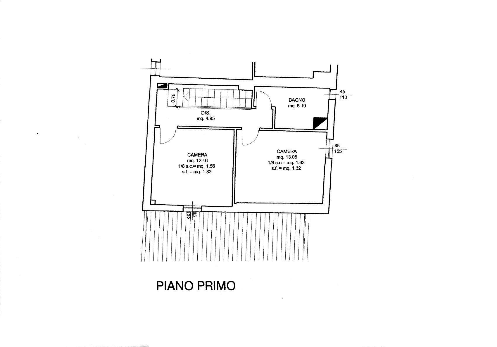 Planimetria 2/2 per rif. R/3465