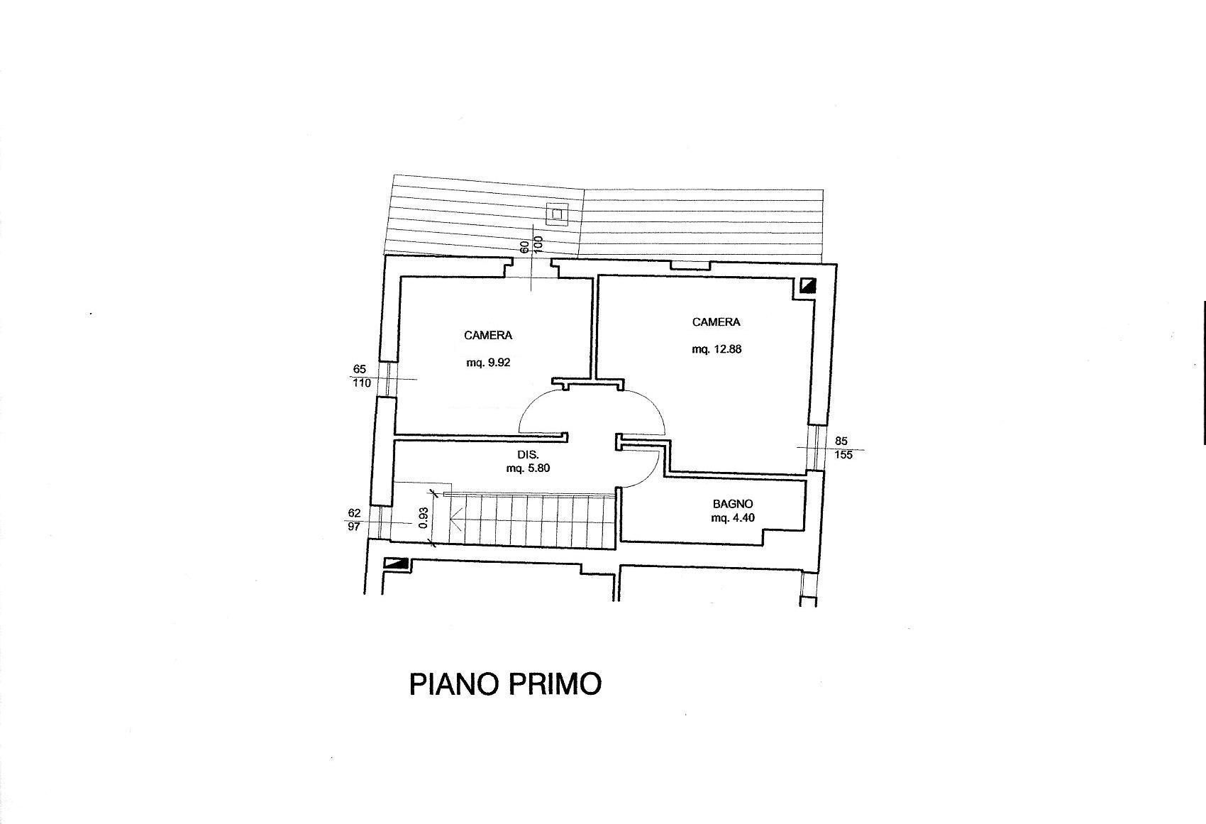 Planimetria 2/2 per rif. R/3466