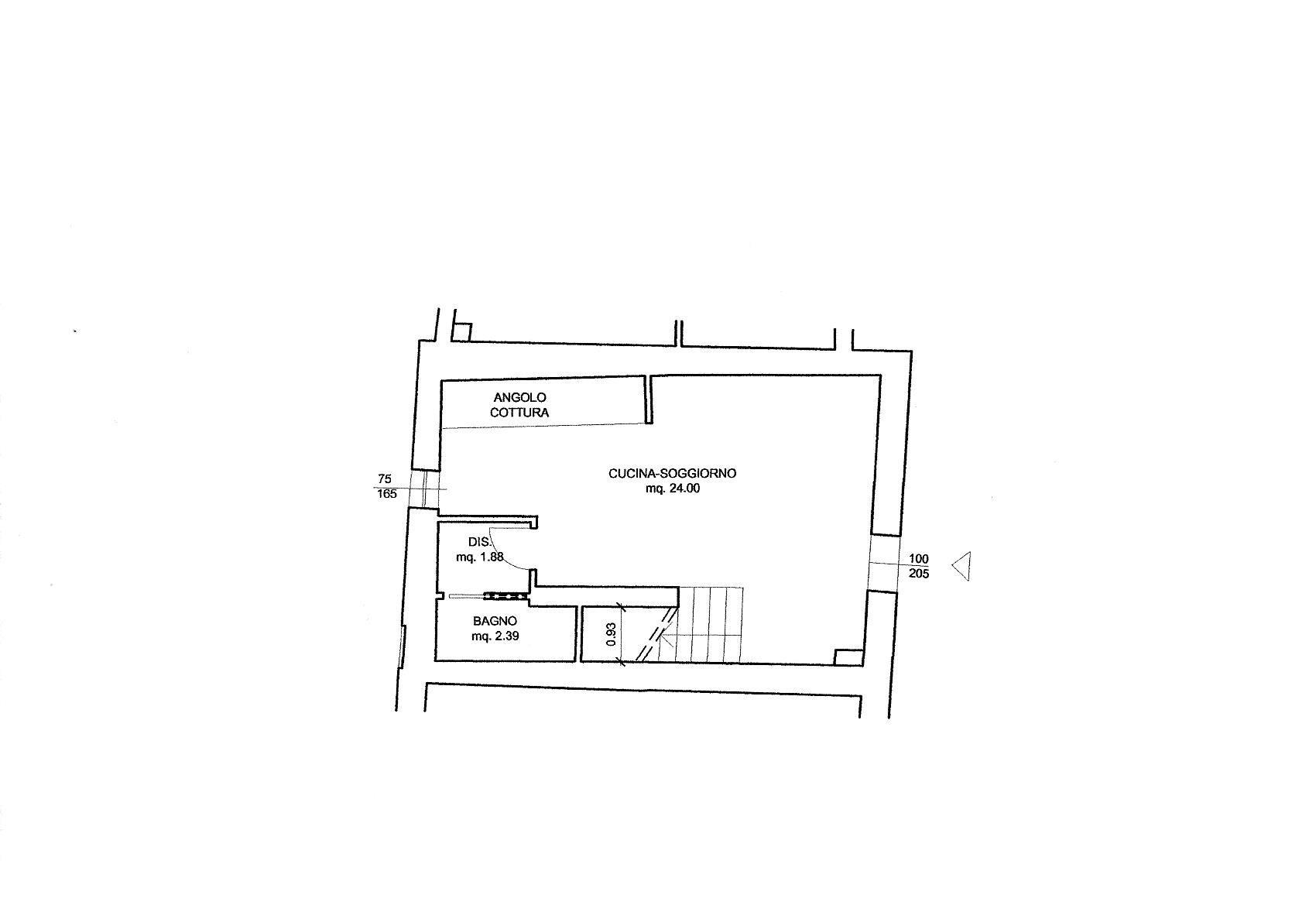 Planimetria 1/2 per rif. R/3466