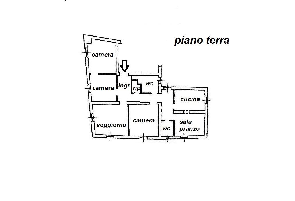 Planimetria 1/1 per rif. R/3477