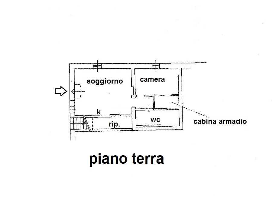 Planimetria 1/1 per rif. R/3479