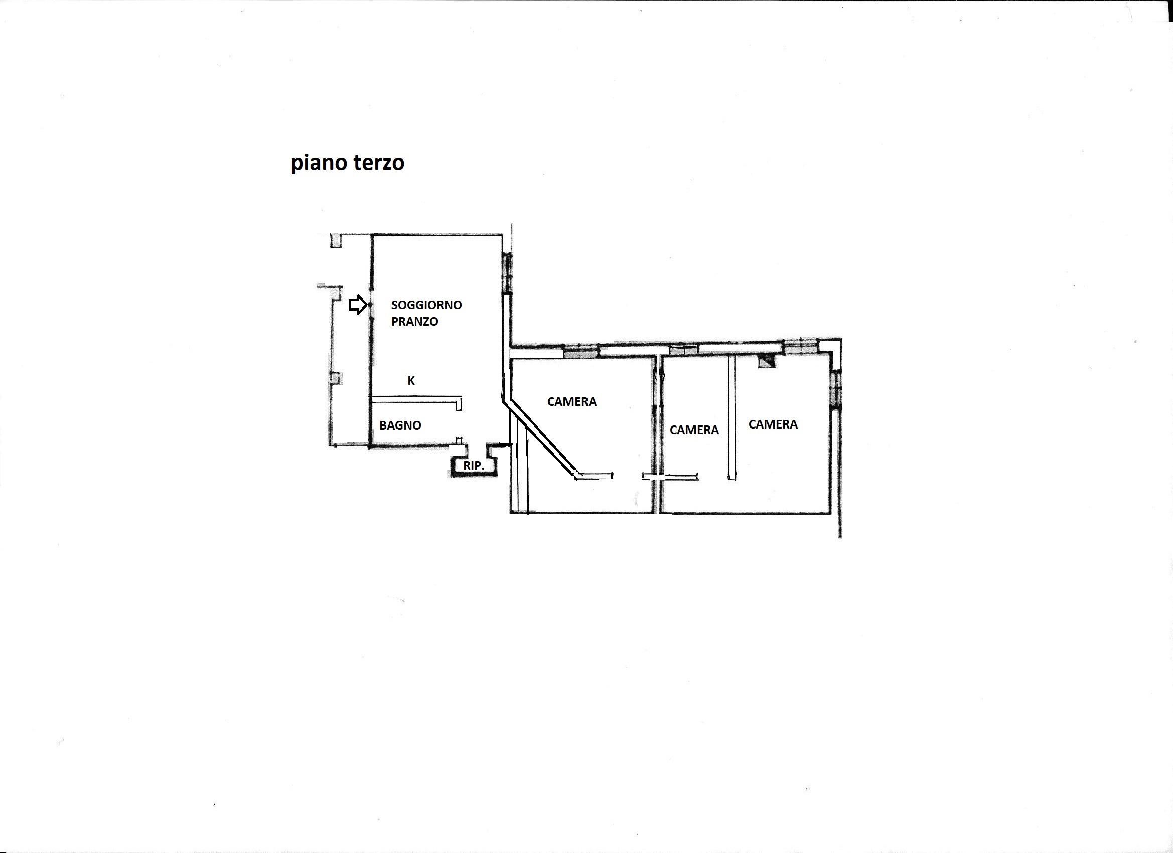 Planimetria 1/1 per rif. R/3481