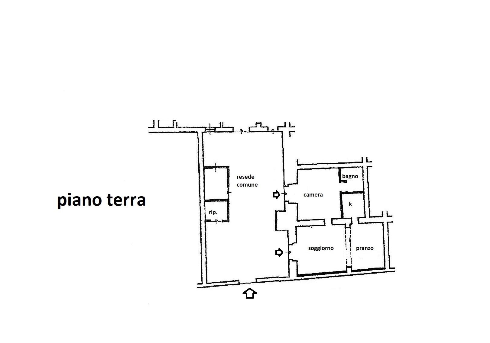 Planimetria 1/1 per rif. R/3482