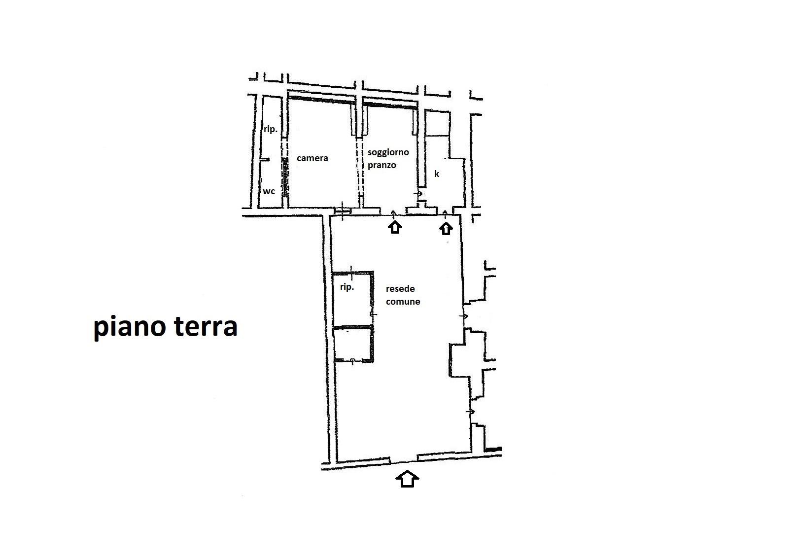 Planimetria 1/1 per rif. R/3483