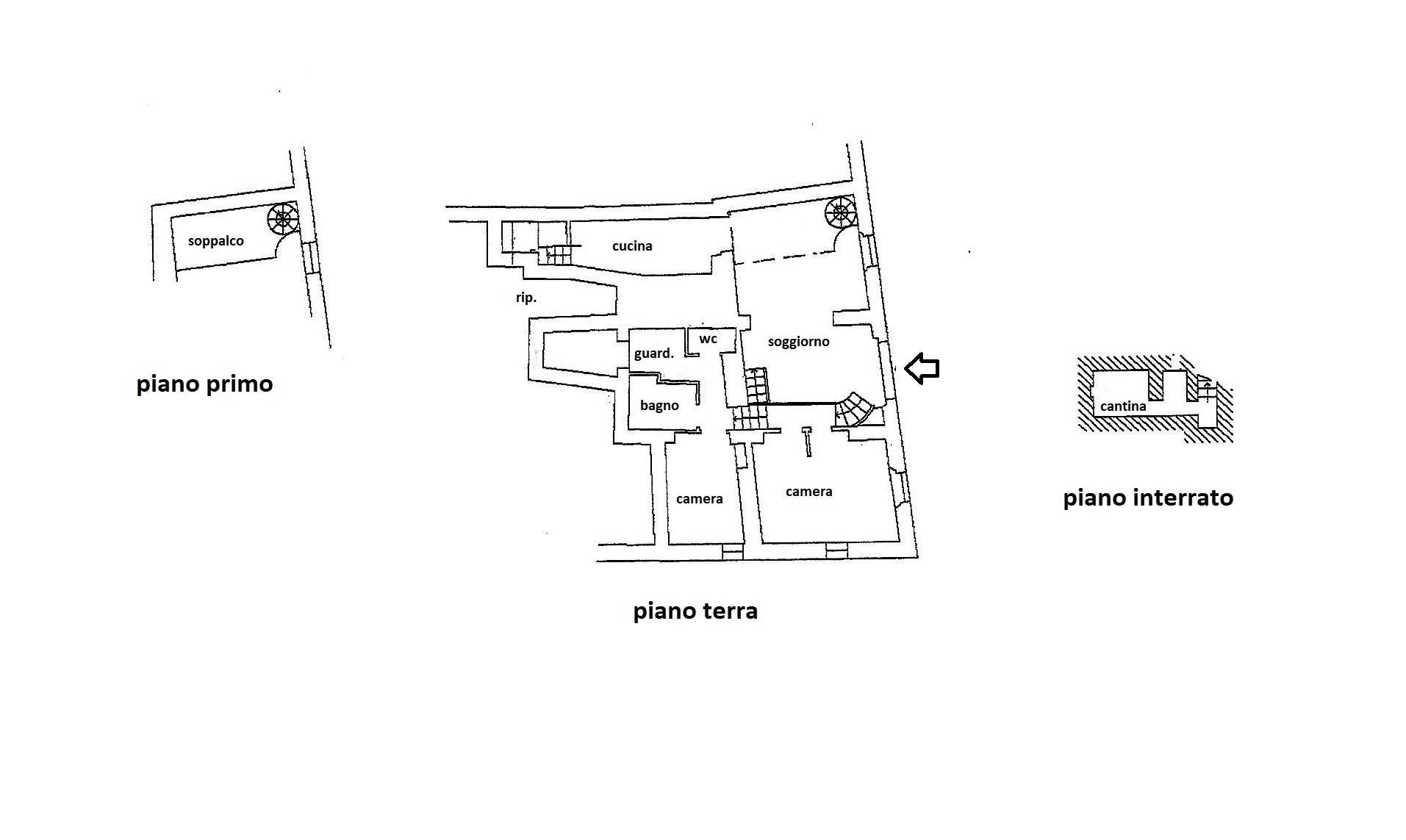 Planimetria 1/1 per rif. R/3487