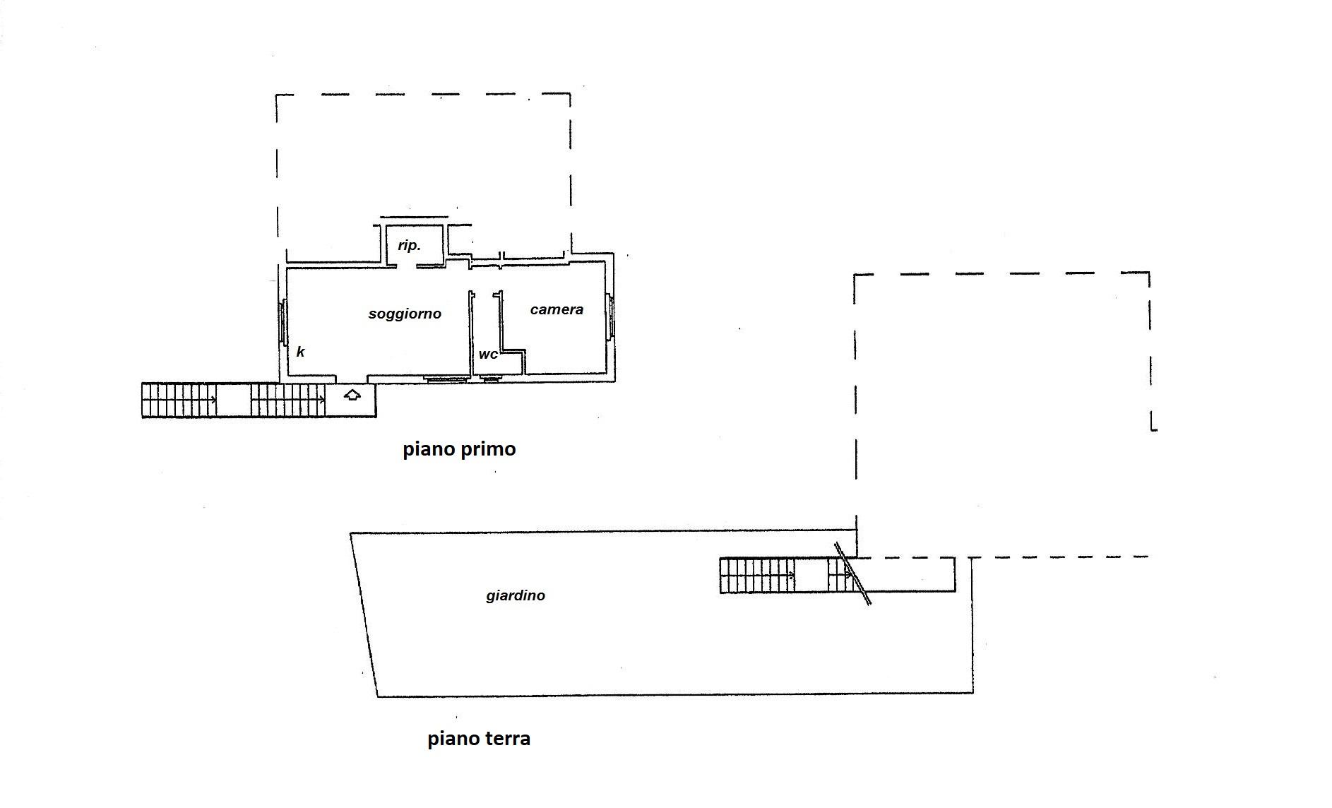 Planimetria 1/2 per rif. R/3494