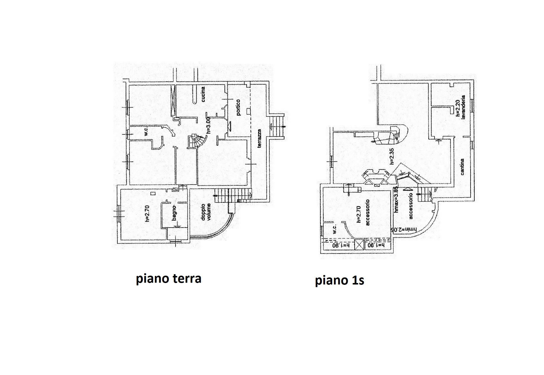 Planimetria 1/1 per rif. R/3496