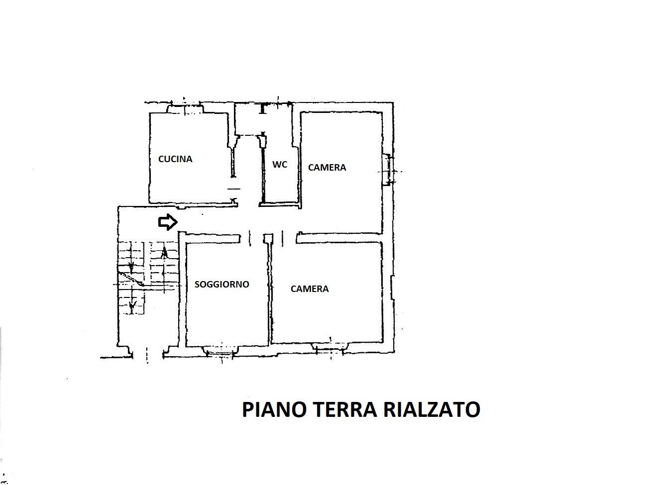 Planimetria 1/1 per rif. R/3507