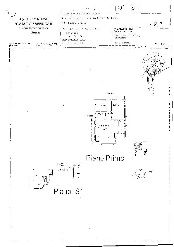 Appartamento in affitto, rif. R/394 (Planimetria 1/1)